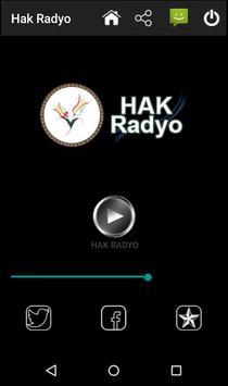 Hak Radyo screenshot 2