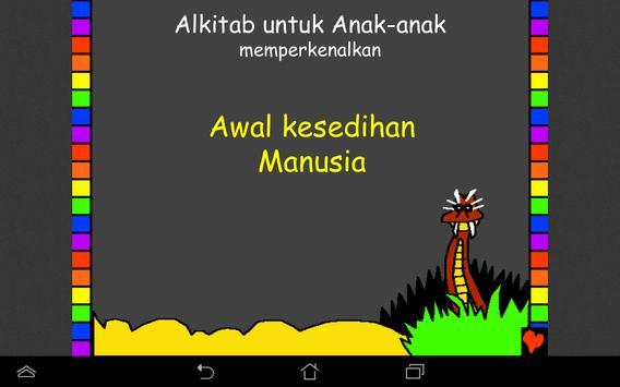 Alkitab untuk Anak-anak screenshot 2
