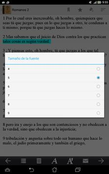 La Santa Biblia apk screenshot