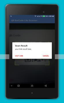 QR BarCode Scanner Lite apk screenshot
