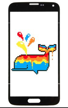 Unicorn: Color By Number Pixel Art poster