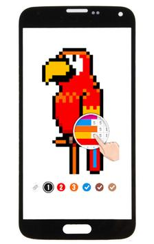 Unicorn: Color By Number Pixel Art screenshot 1