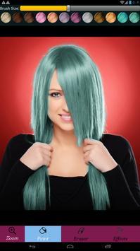 تغير لون الشعر screenshot 5