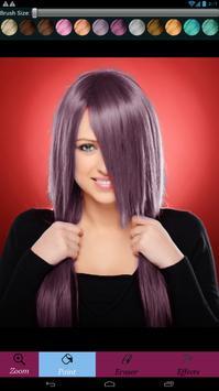 تغير لون الشعر screenshot 6