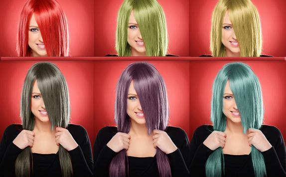تغير لون الشعر screenshot 9