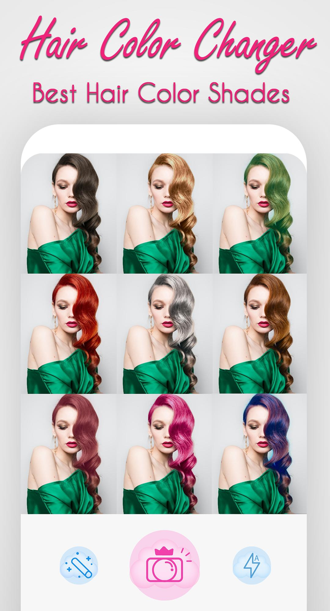 Hair Dyes Photo Editor Hair Color Changer For Android Apk Download