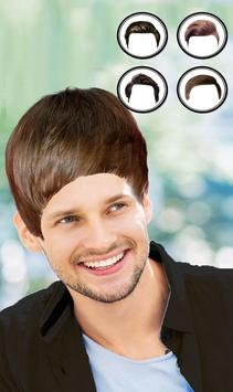 Man Mustache and Hairstyle color changer salon screenshot 3