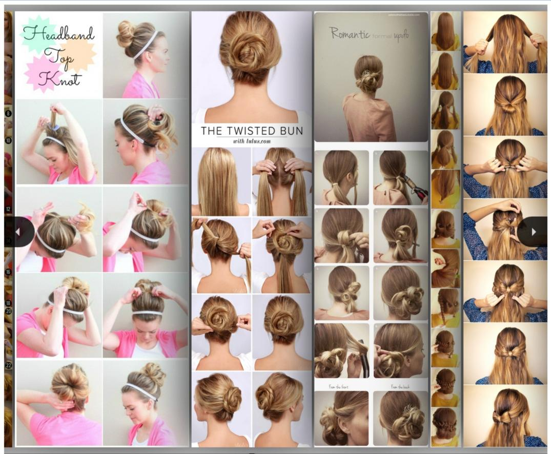 Hair Tutorials Step By Step For Android Apk Download
