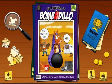 The Adventures of BombADillo apk screenshot