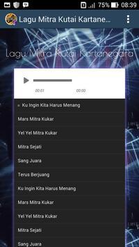 Soccer Fans - Lagu Mitra Kutai Kartanegara screenshot 1