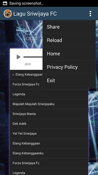 Soccer Fans - Lagu Sriwijaya FC screenshot 3