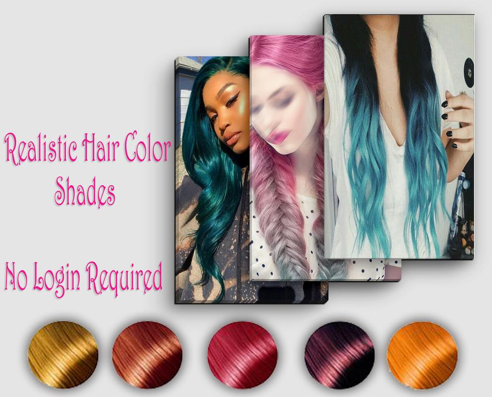 Haircolor Realistic Hair Color Changer Apk Download Free