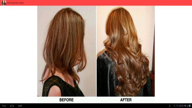 Hair Extensions Before & After screenshot 2