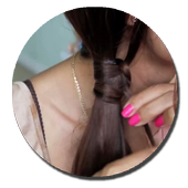 DIY Tutorial long hair party icon