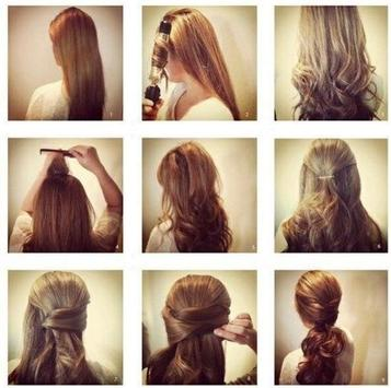 DIY Tutorial long hair party apk screenshot
