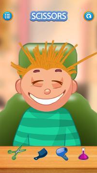 Child game / blonde hair cut apk screenshot