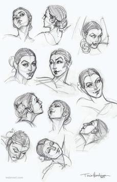 Hair Sketch Tutorials poster
