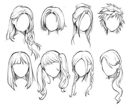 Hair Sketch Tutorials apk screenshot