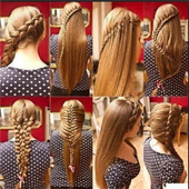 Hairstyles step by step icon