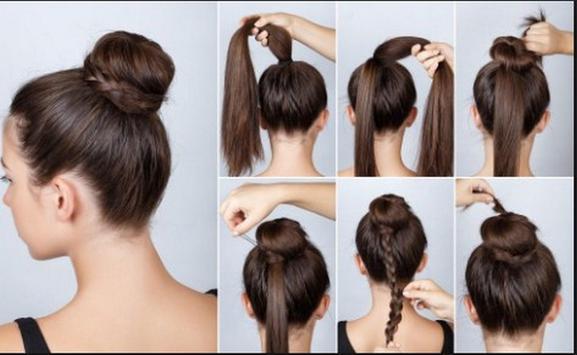 Hairstyles step by step screenshot 5