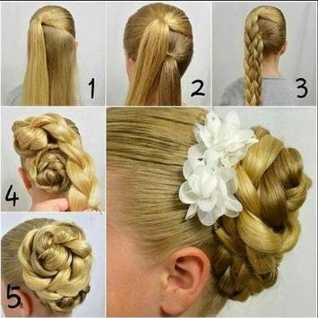 Hairstyles step by step screenshot 6