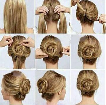 Hairstyles step by step screenshot 7
