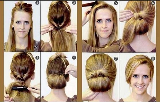 Hairstyles step by step screenshot 11