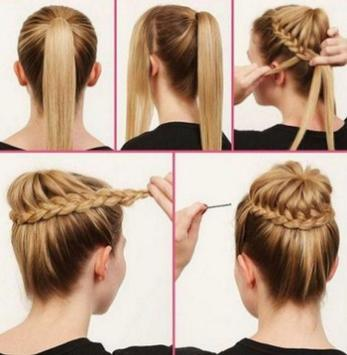 Hairstyles step by step screenshot 17