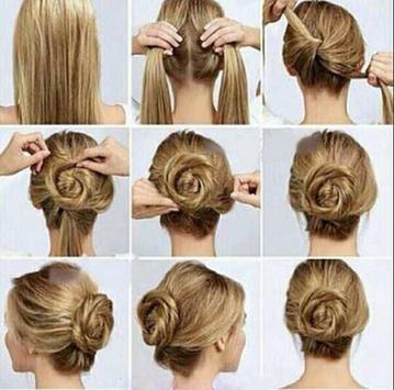 Hairstyles step by step screenshot 15