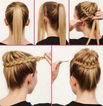 Hairstyles step by step screenshot 1