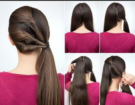 Hairstyles step by step screenshot 2