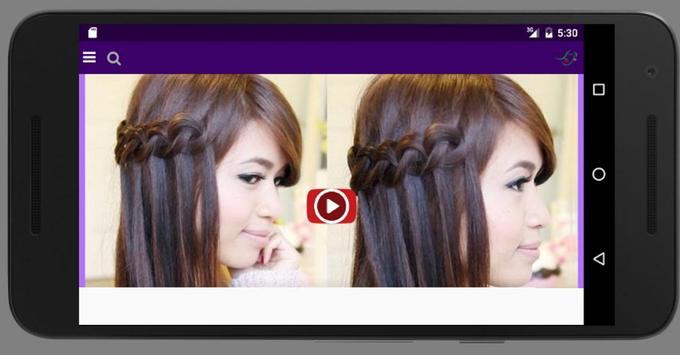 New Hairstyles Tutorial apk screenshot