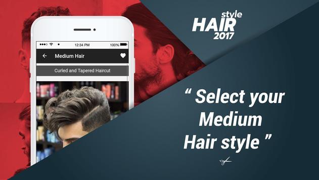 Latest Men Hair Styles 2017 apk screenshot