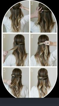 Hairstyles step by step Easy For Girls poster