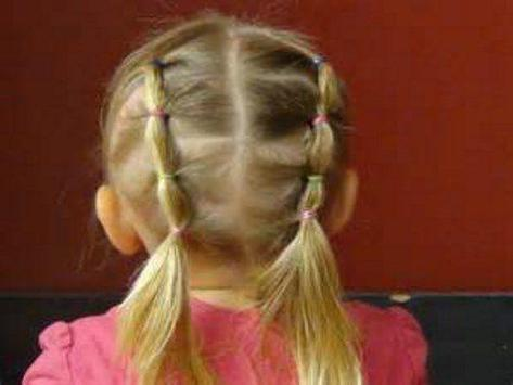hairstyles for kids poster