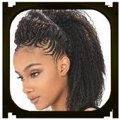 Black Hairstyle icon