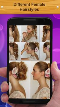 Different Female Hairstyles poster