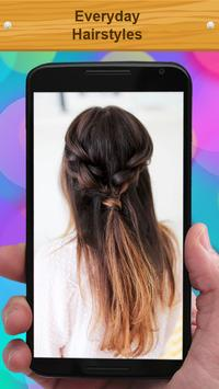 Everyday Hairstyles apk screenshot