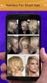 Hairdos For Short Hair poster