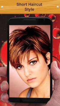 Short Haircut Style screenshot 1