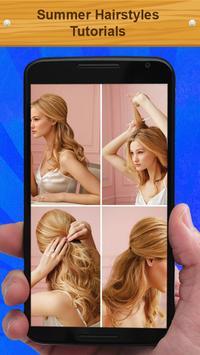 Summer Hairstyles Tutorials screenshot 1