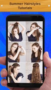 Summer Hairstyles Tutorials screenshot 2