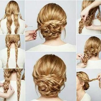 Hairstyle Girl Tutorial apk screenshot