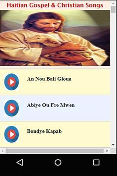 Haitian Gospel Christian Songs apk screenshot