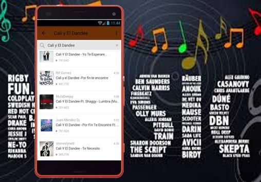 Cali Y El Dandee - Nuevo La Estrategia Musica apk screenshot