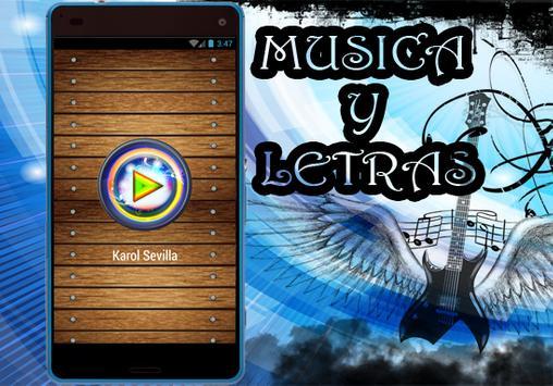 Karol Sevilla - Nuevo Siempre Juntos Musica yletra apk screenshot