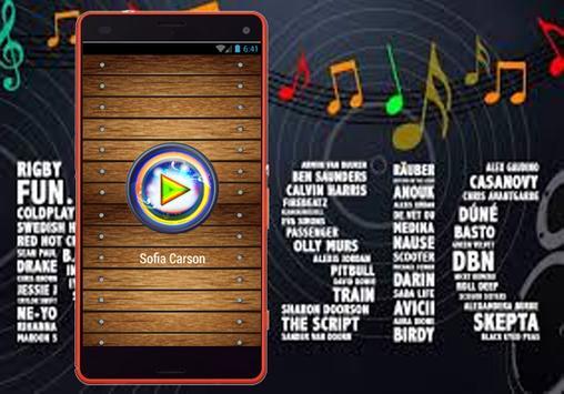 Sofia Carson - Musica Back to Beautiful y letras screenshot 1