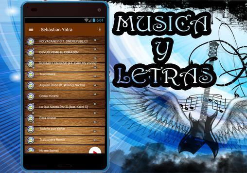 Sebastian Yatra -Nuevo Robarte un Beso Musica 2017 apk screenshot
