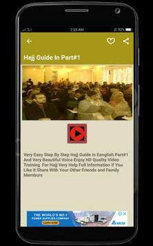 Hajj Guide screenshot 2