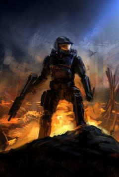 Halo master chief wallpaper for android apk download halo master chief wallpaper screenshot 3 voltagebd Image collections